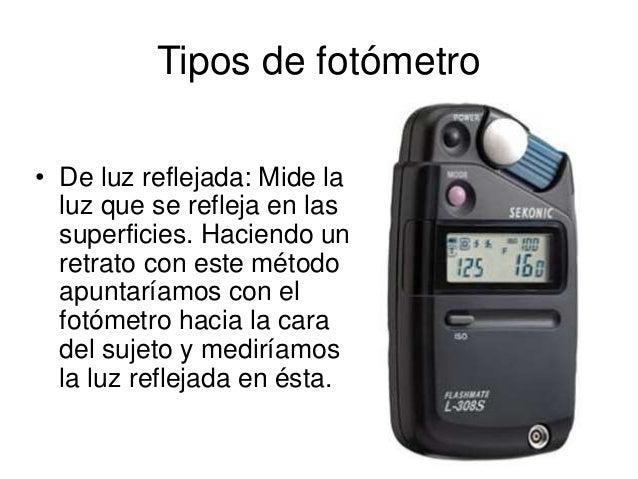 Iluminación: Tipos De Fuentes De Luz Y Fotómetros