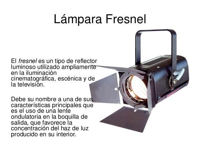 Iluminaci n tipos de fuentes de luz y fot metros - Iluminacion cinematografica ...