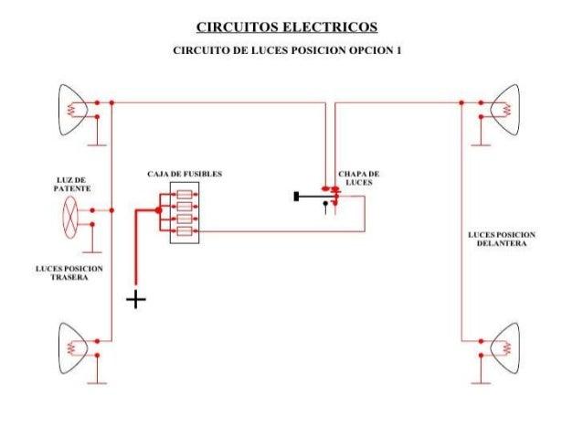 Circuito Luces Led Intermitentes : Luces automotrices