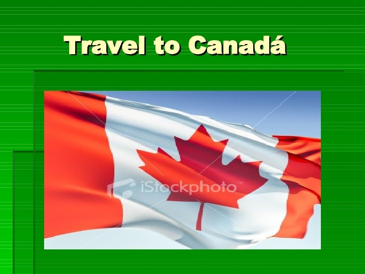 Travel to Canadá