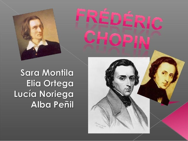    Frédérick is a Polish composer (a writer of    music) and pianist, was one of the    creators of the typically romanti...