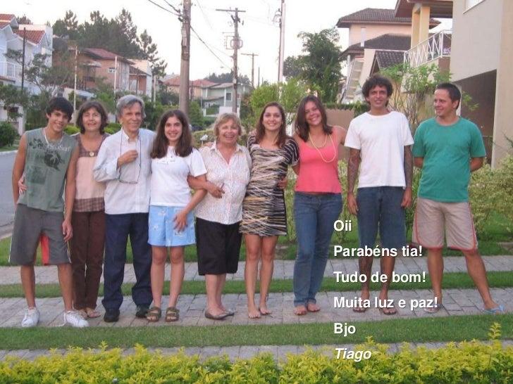 Feliz Aniversario Tia Graca: Luciana 50 Anos