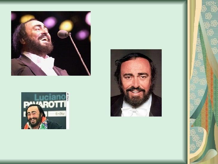 Luciano Pavarotti Slide 3