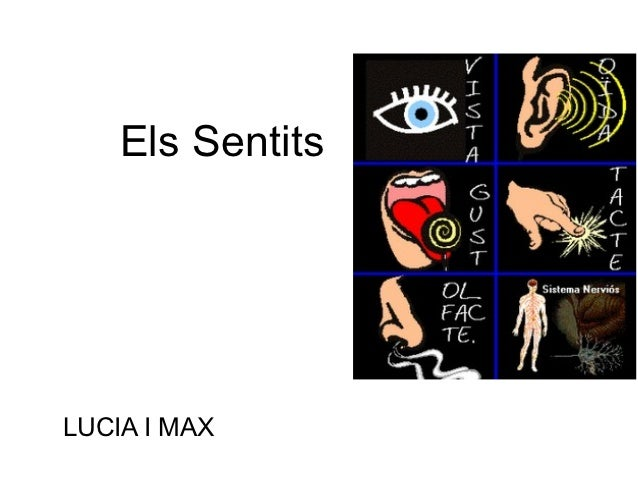 Els SentitsLUCIA I MAX