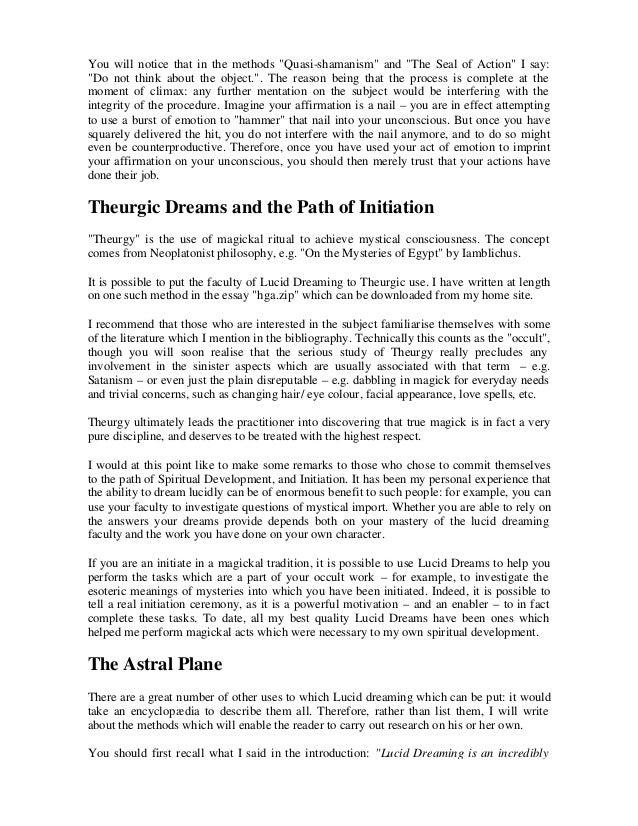 lucid dream essay Read this essay on lucid dreaming come browse our large digital warehouse of free sample essays get the knowledge you need in order to pass your classes and more.