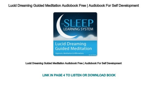 Lucid Dreaming Guided Meditation Audiobook Free | Audiobook
