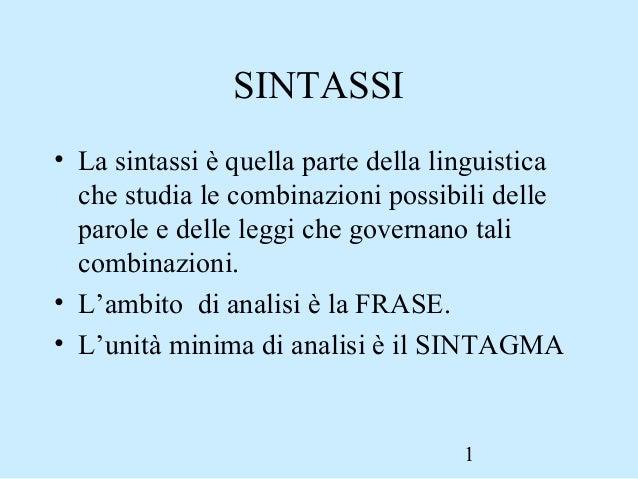 Lucidi Sintassi2
