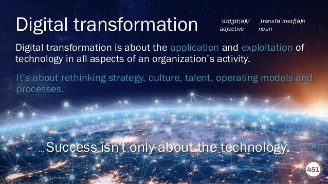 451RESEARCH.COM ©2020 451 Research. All Rights Reserved. Digital transformation is about the application and exploitation ...