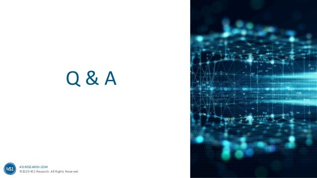451RESEARCH.COM ©2020 451 Research. All Rights Reserved. Q & A