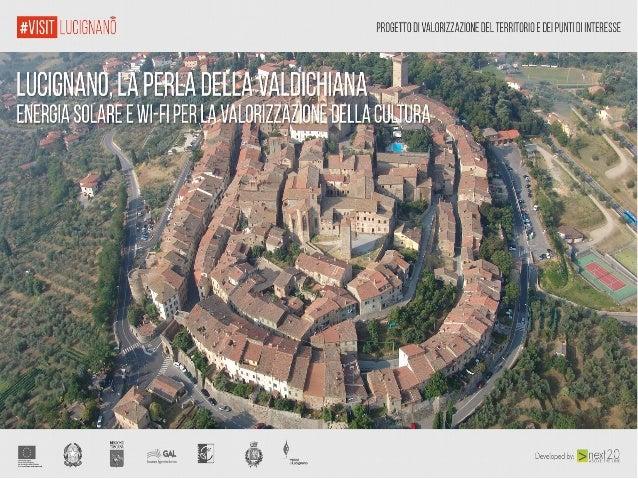 Presentazione del progetto #visitlucignano
