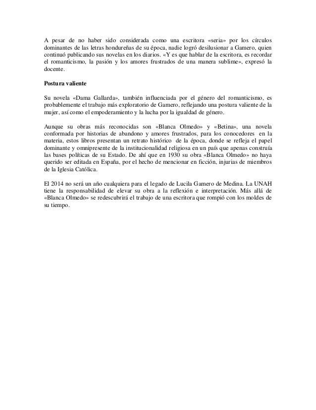 descargar blanca olmedo lucila gamero de medina pdf