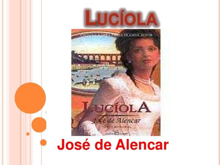 LUCÍOLAJosé de Alencar