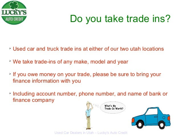 Do Car Dealers Take Trade Ins