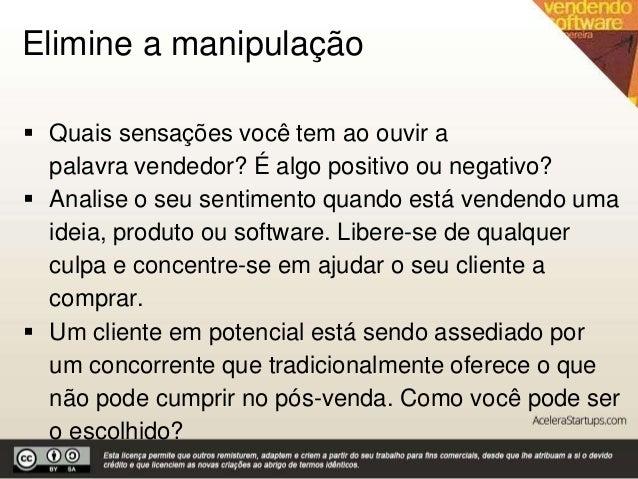 Vendendo software by Acelera Startups Slide 3