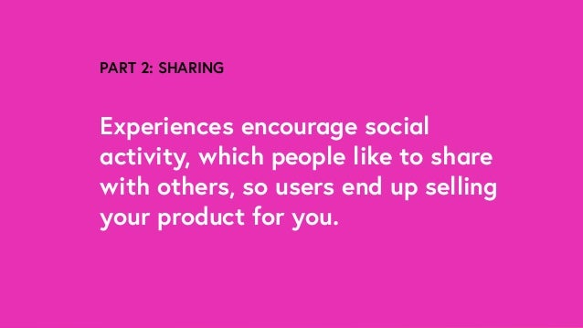 How Experiences Sell Products (Lucy Blackwell)