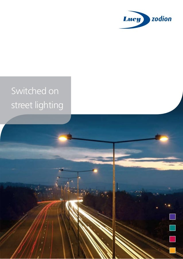 Switched onstreet lighting