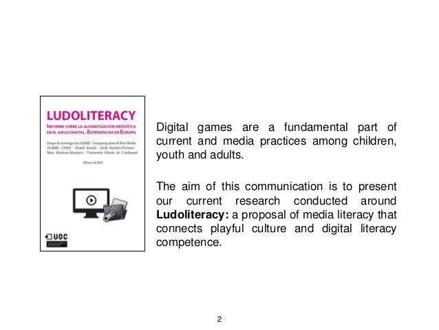 Ludoliteracy presentación cet_2016 Slide 2