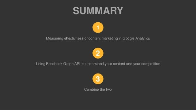 Ludvik høegh krohn google analytics and content marketing