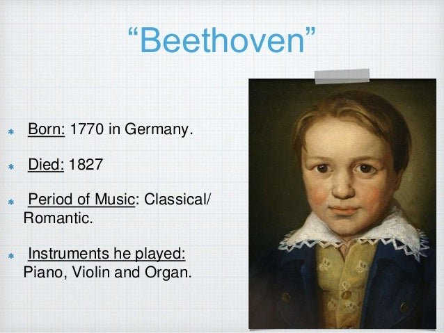 an introduction to the life and history of ludwig van beethoven Ludwig van beethoven  beethoven composed thirty-two sonatas articulate his life with either the extremities of happiness and sadness as a reflection of his life.