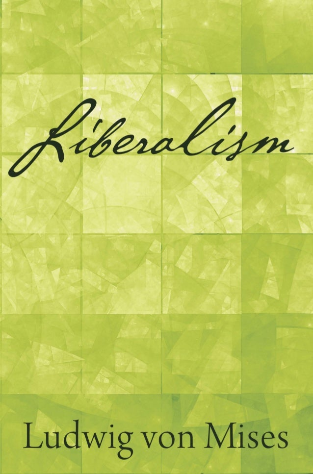 Liberalism In The Classical Tradition