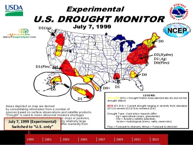 US Drought Monitor A look behind the scenes