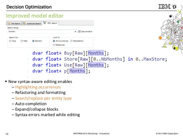 Innovations in CPLEX performance and solver capabilities
