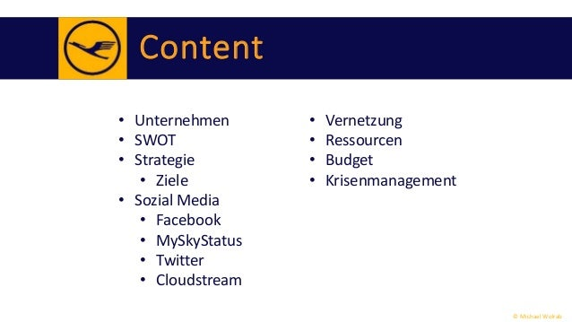 lufthansa swot Lufthansa oneworld swot strengths : focus on quality complementary global  network none of its members declared bankrupt opportunities.
