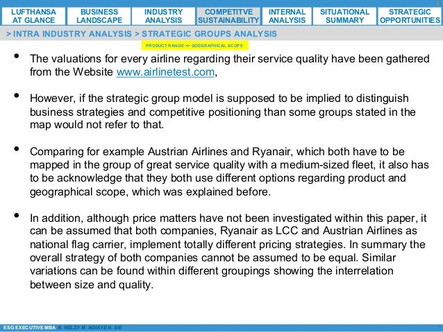 swot analysis of ryanair Analysis of ryanair strategic capability analysis swot analysis model is used to assess the strategic capability of ryanair by four dimensions:.