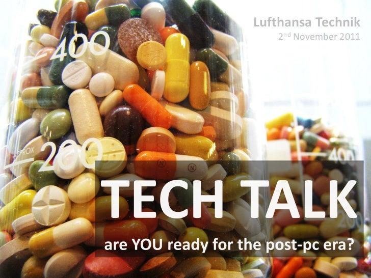 Lufthansa Technik   2nd November 2011