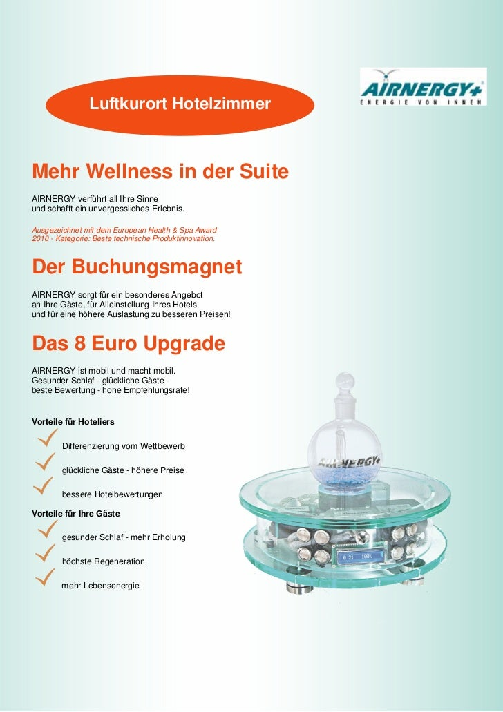 Luftkurort hotelzimmer mit airnergy spirovital therapie for Hotelzimmer teilen