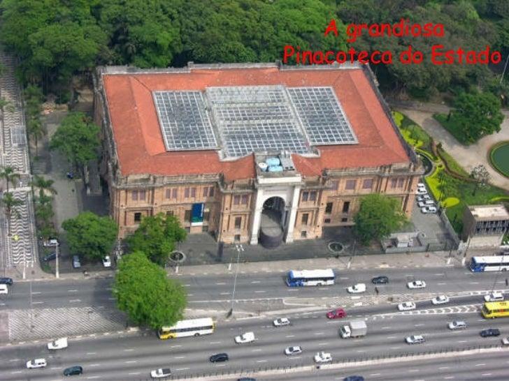 A grandiosa Pinacoteca do Estado