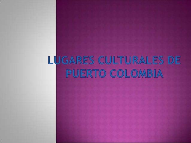 Puerto Colombia es una población y municipio de Colombia ubicado al noroccidente del departamento del atlántico. Colinda a...