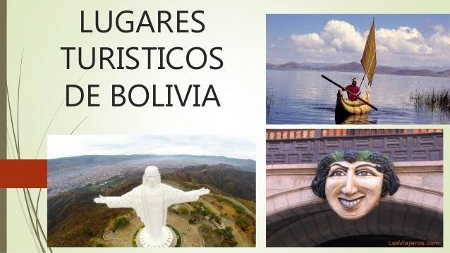 lugares turisticos de bolivia