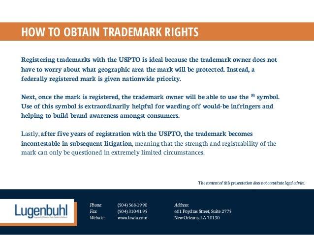 Understanding Trademarks Intellectual Property