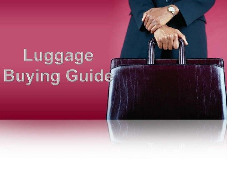 Types of Luggage               Visit: ComparisonDeals.Com