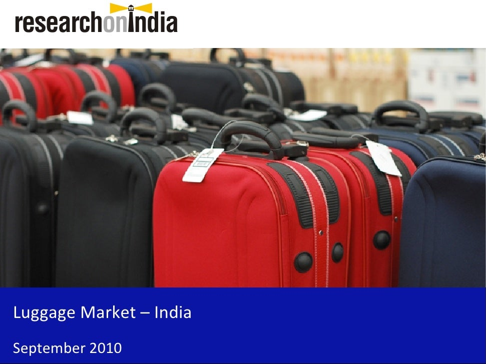 Luggage Market – India September 2010