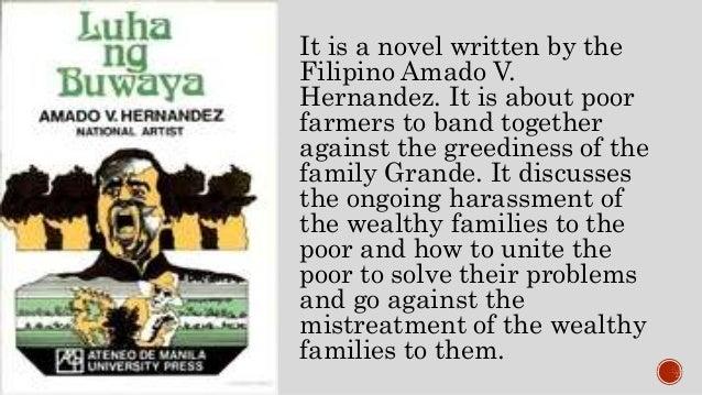 luha ng buwaya term paper