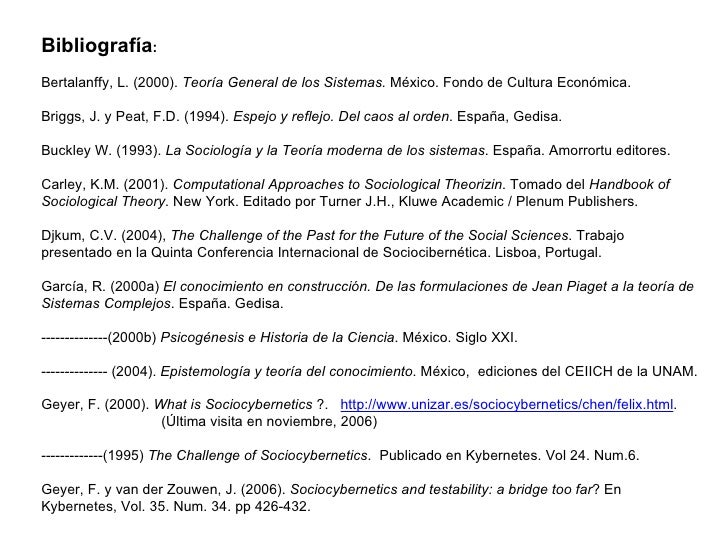 Presentaciones de la 8va sesi n 2da parte del seminario for Espejo y reflejo del caos al orden pdf