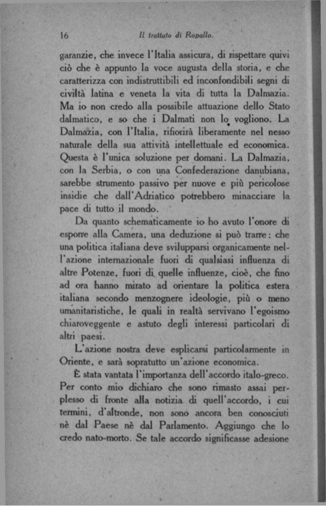 Luigi federzoni il trattato di rapallo 1921 for Posti degli onorevoli