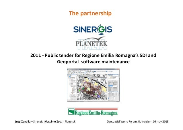 Partnership and open data as enablers of INSPIREd innovative services Slide 3