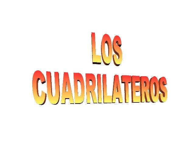PUNTOS DEL TRABAJO●   ¿QUE ES UN CUADRILATERO?●   ELEMENTOS DE LOS CUADRILATEROS●   TIPOS DE CUADRILATEROS