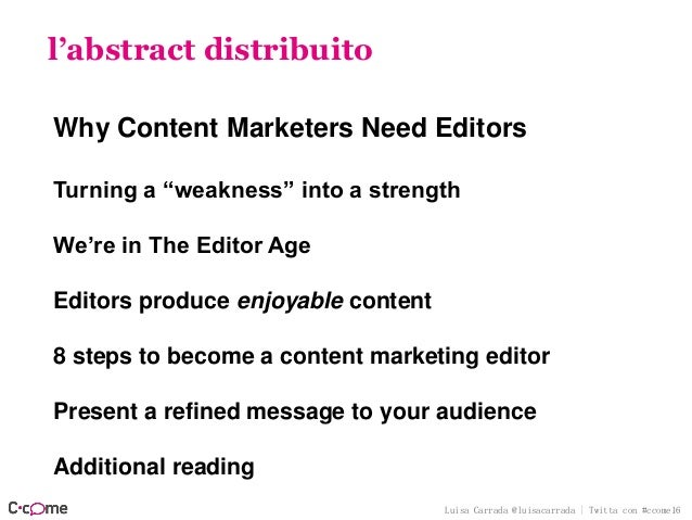 """Luisa Carrada @luisacarrada 