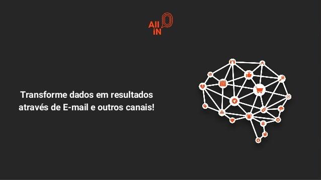 Transforme dados em resultados através de E-mail e outros canais!