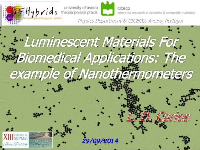 luminescent materials for biomedical applications  the example of nan u2026