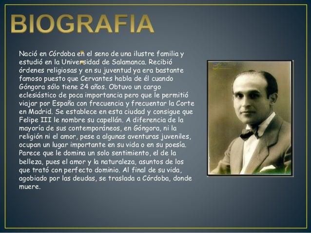 Luis de Góngora Slide 2