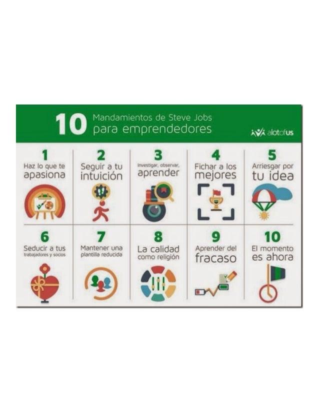 10 Mandamientos de Steve Jobs para emprendedores por Luis Fernando Heras Portillo
