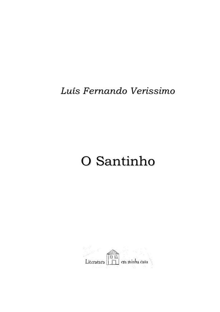Luis Fernando Verissimo O Santinho Doc Rev | Tattoo Design ... - photo#50