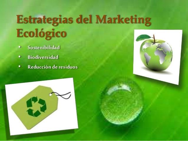 Resultado de imagen de ecologia marketing