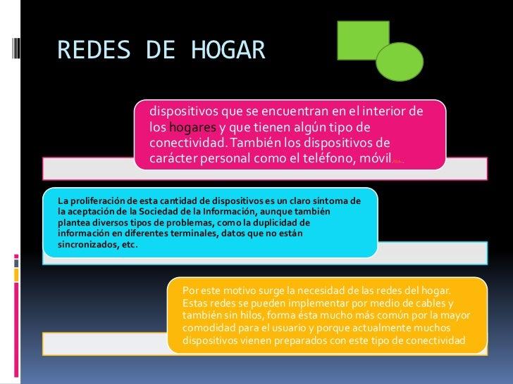 REDES DE HOGAR<br />