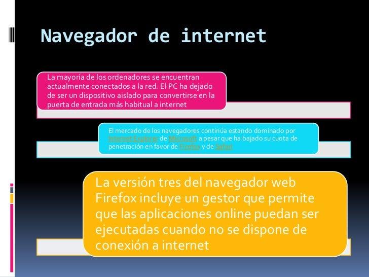 Navegador de internet<br />